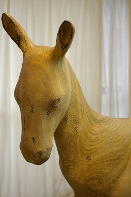 【木作欣赏】灵性的觉醒,灵性木雕-手工记木