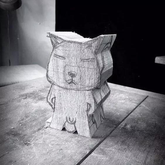 太魔性了,这些不正经的木雕为啥让人这么喜欢