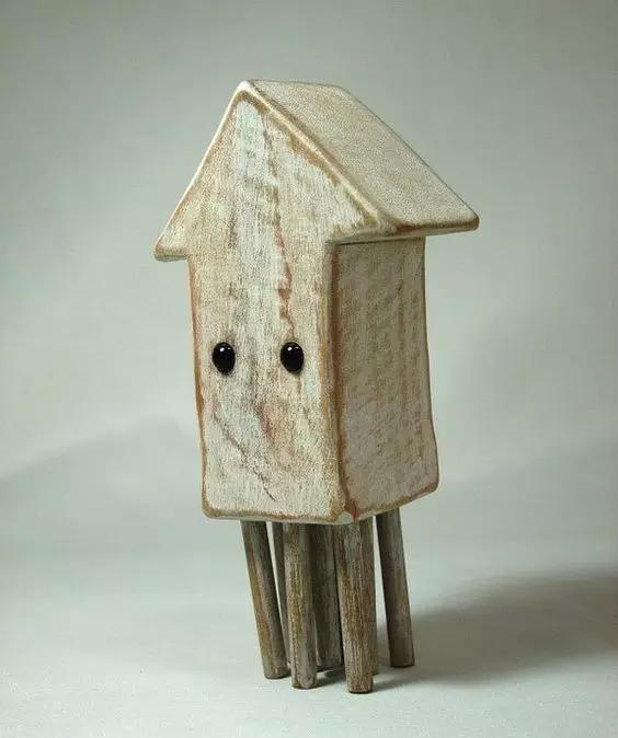 太魔性了,这些不正经的木雕为啥让人这么喜欢-手工记木