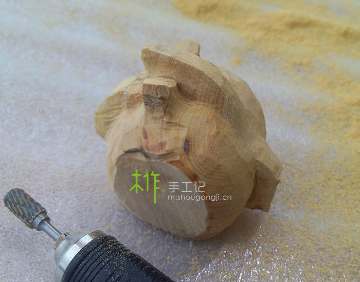 【木雕教程】卡通木马