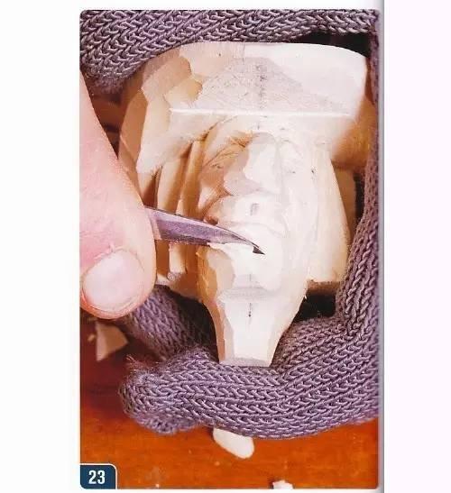 【木雕过程】西部牛仔瓶塞雕刻教程