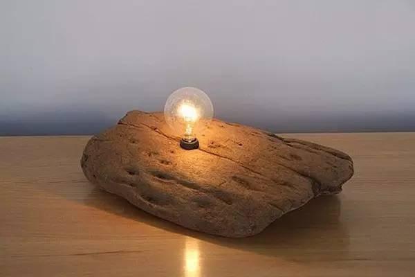 【木作欣赏】老木不朽,床头老木头灯-手工记木