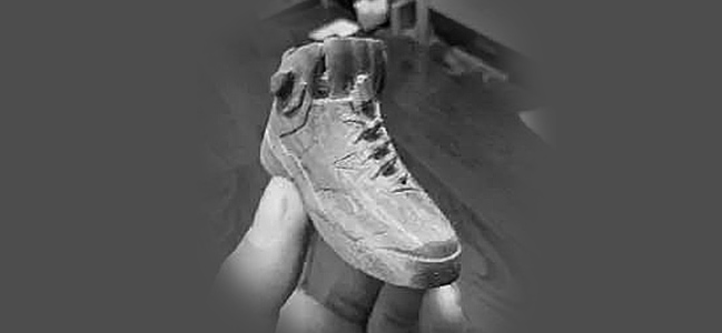木雕教程之鞋子