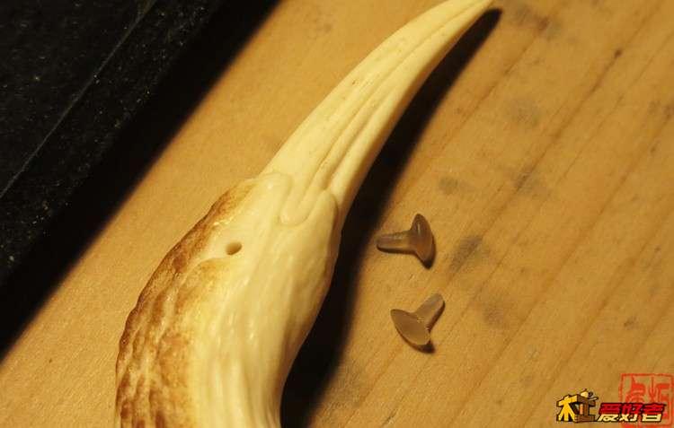 【木作欣赏】随型点睛雕刻-鹿角-手工记木