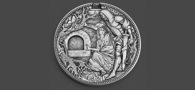 硬币雕刻大神【手工记木】